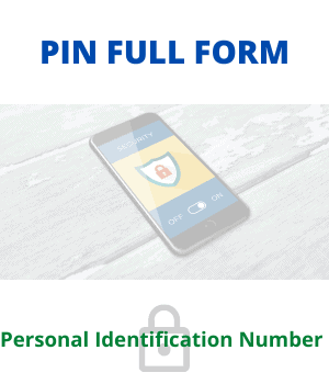 Full Form of PIN